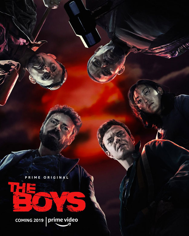 "Primer cartel de ""The Boys""... pura fidelidad"