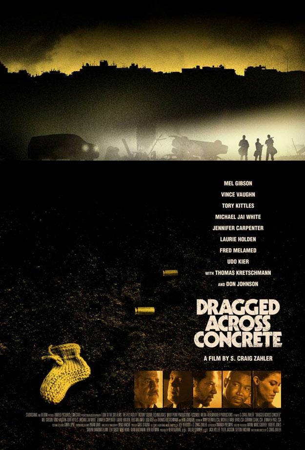 0ba95b902fa El primer cartel oficial de Dragged Across Concrete de S. Craig Zahler