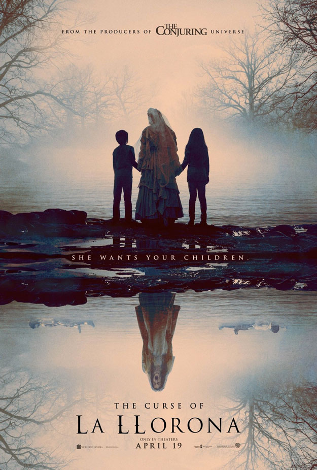 Primer cartel de The Curse of La Llorona