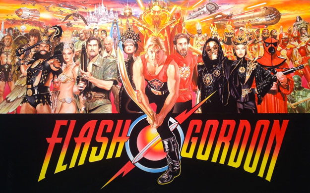 Flash Gordon por Alex Ross