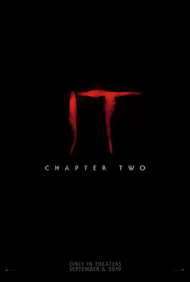 Primer cartel de It: Chapter Two