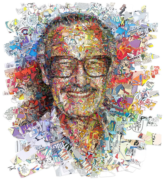 Stan Lee por Ron Galella y THR