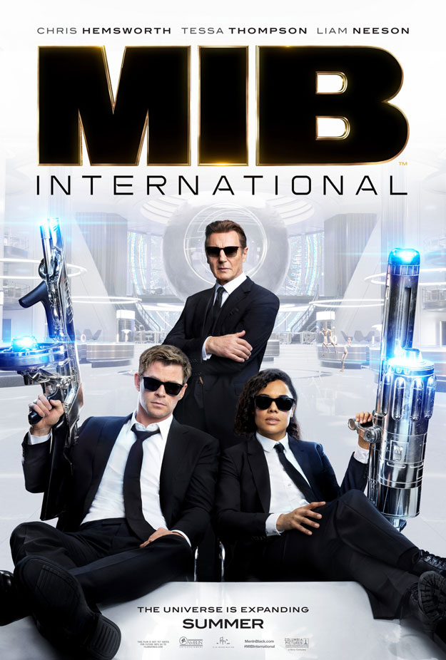 El primer cartel de MEN IN BLACK: INTERNATIONAL