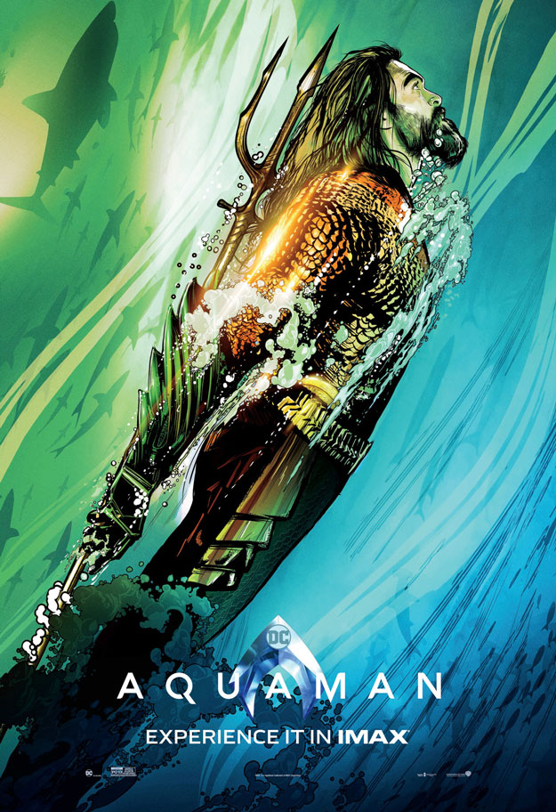 Cartel IMAX de Aquaman