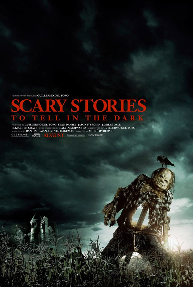 Primer cartel de Scary Stories to Tell in the dark