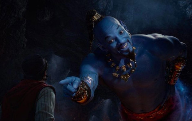 Primer vistazo a un Will Smith de color azul CGI en el Aladdin de Guy Ritchie