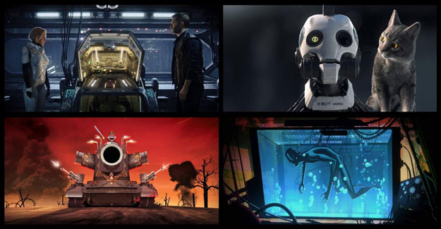 Simple pero directo... Love, Death + Robots