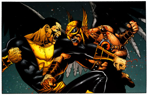 ¿Black Adam vs. Hawkman en el futuro film de DC y Dwayne Johnson?