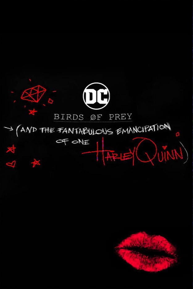 Cartel de Birds of Prey (and the Fantabulous Emancipation of Harley Quinn) visto en la CinemaCon