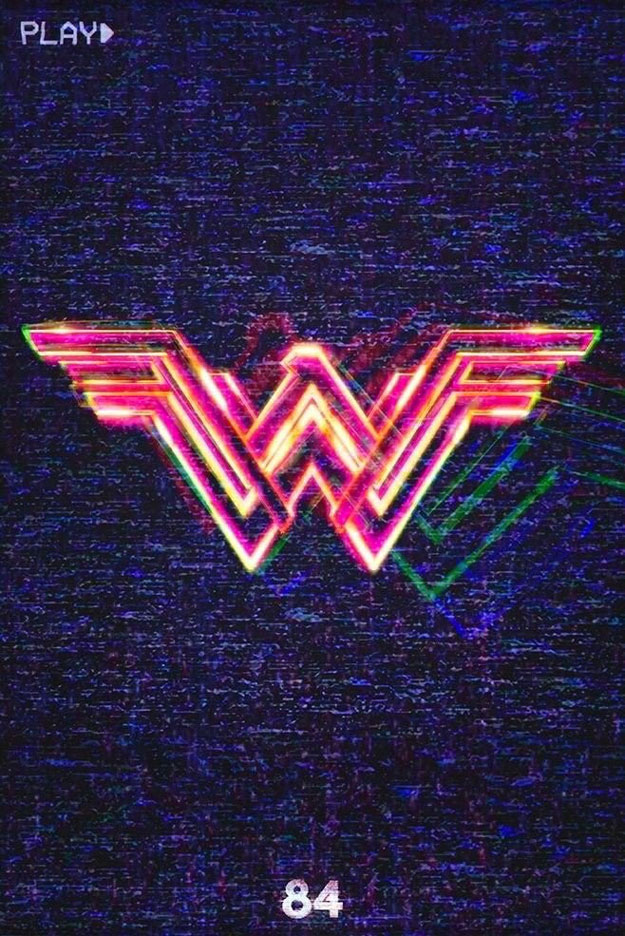Cartel de Wonder Woman 1984 visto en la CinemaCon