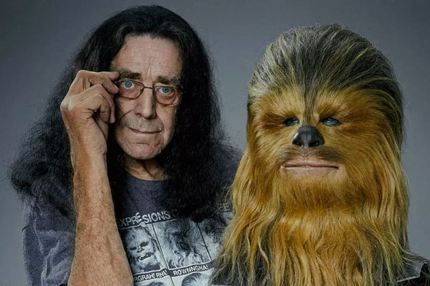 Peter Mayhew y Chewbacca