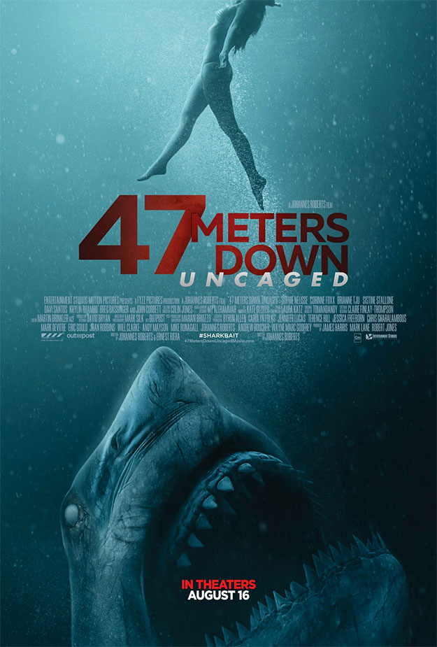Cartel de 47 Meters Down: Uncaged