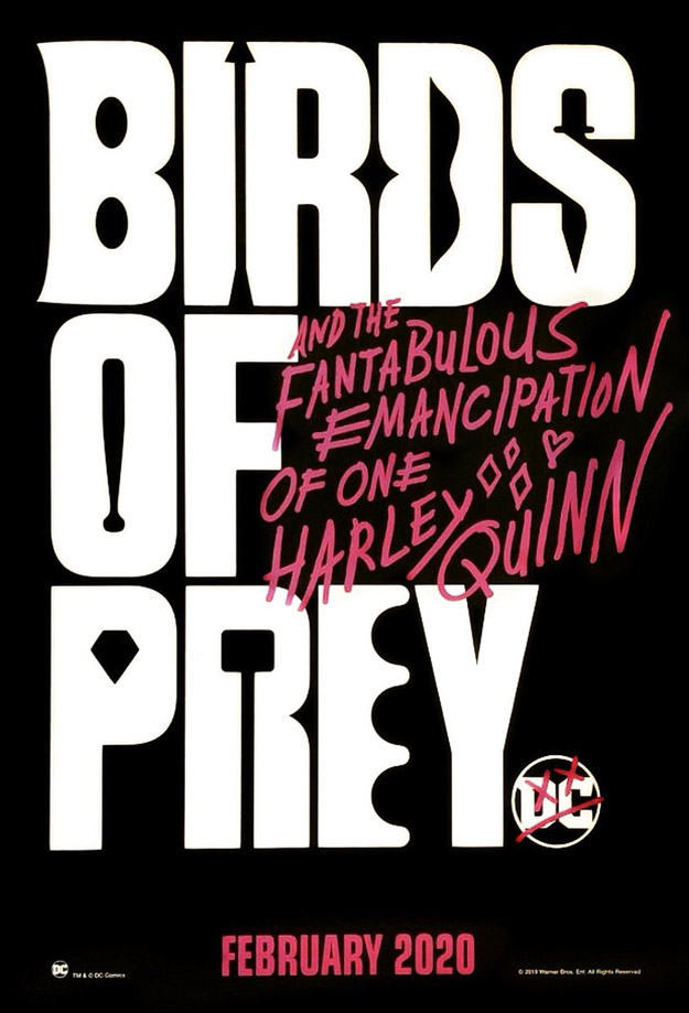 Nuevo cartel de Birds of Prey (And the Fantabulous Emancipation of One Harley Quinn)