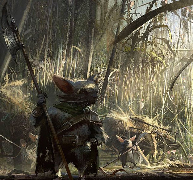 Concept art de Mouse Guard