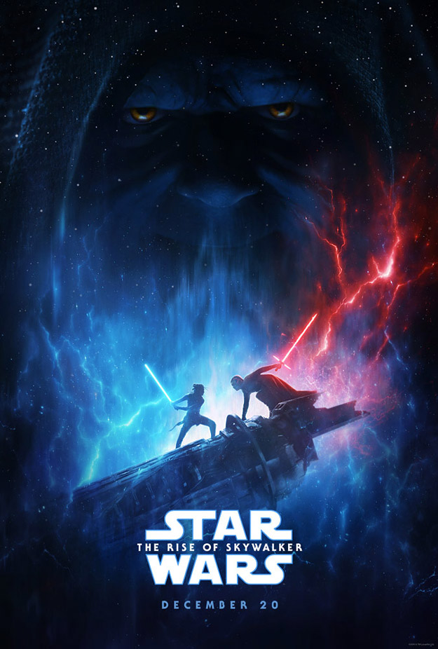 Primer cartel molón de Star Wars: El Ascenco de Skywalker