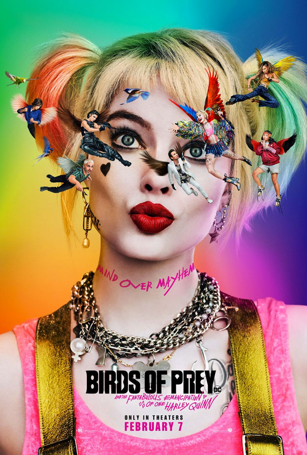 Cartel de Birds of Prey (And the Fantabulous Emancipation of One Harley Quinn)