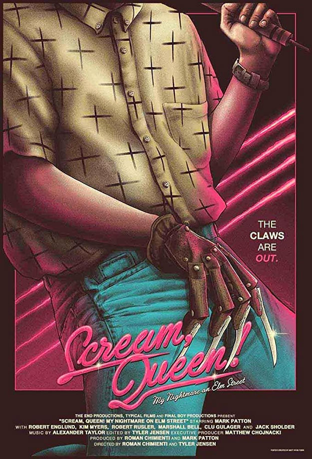"Cartel de ""Scream Queen!, My Nightmare on Elm Street"""