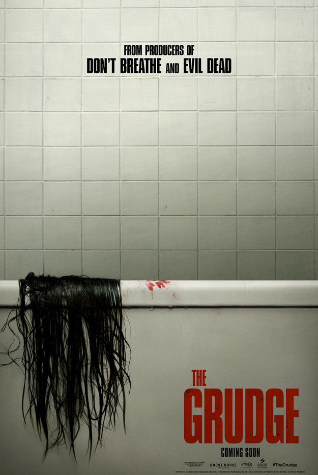 Primer cartel de The Grudge