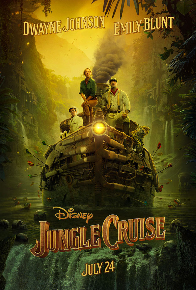 Primer cartel de Jungle Cruise