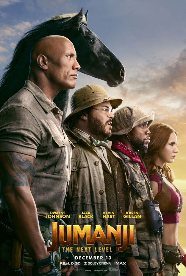 Cartel final de Jumanji: Next Level