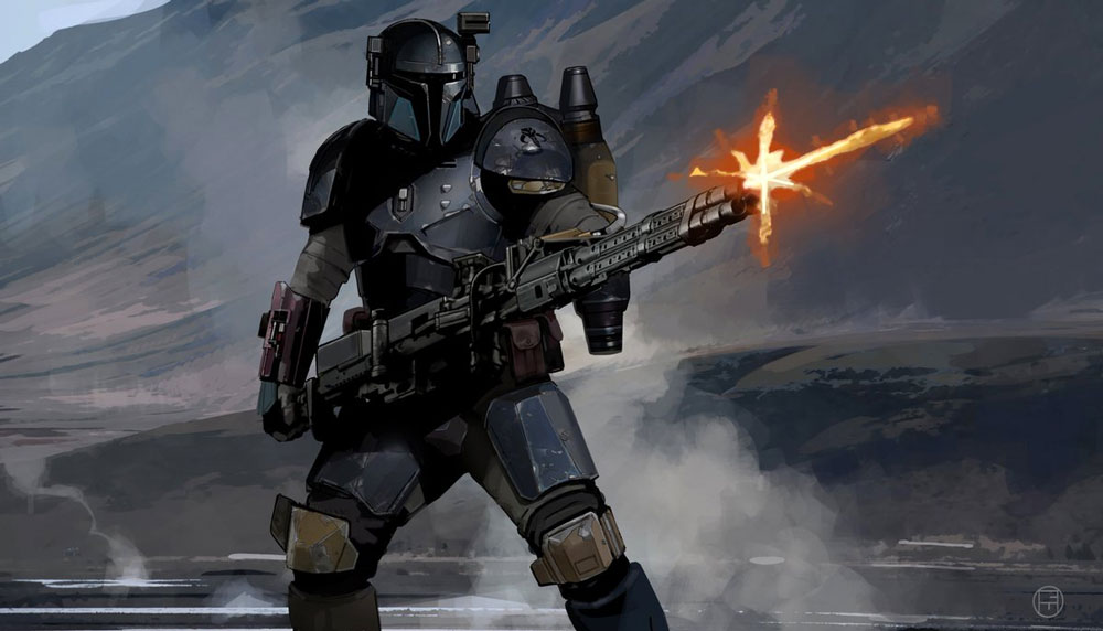 "Concept art ""The Mandalorian"""