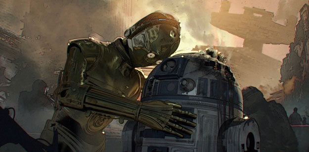 "Concept art de ""Star Wars: Duel of Fates"", el guión de Colin Trevorrow"