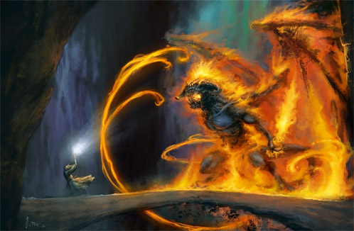 Gandalf vs. Balrog