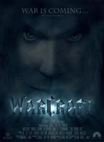 "Póster ""Fan made"" de Warcraft... con Uwe Boll!!!"