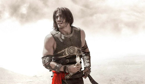 Dastan con la daga de Prince of Persia: The Sands of Time