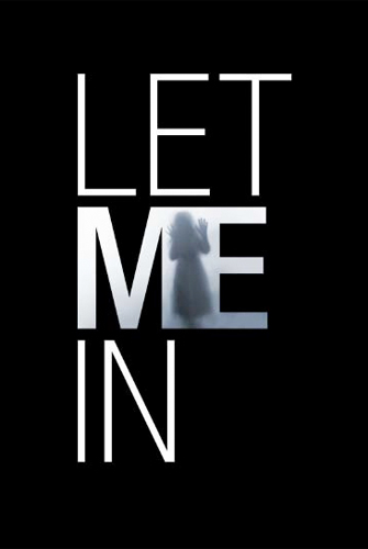 Promo póster de Let Me In