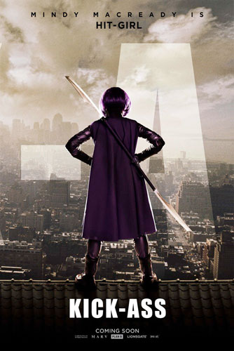 Cartel de Mindy MacReady a.k.a. Hit-Girl
