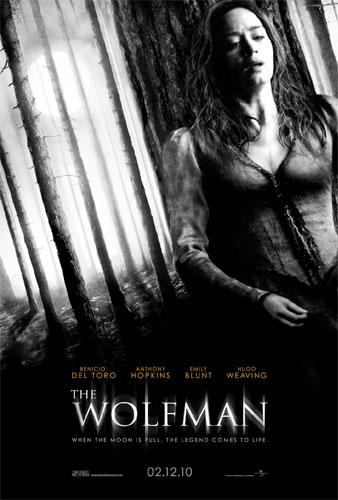 Segundo póster de The Wolfman con Emily Blunt