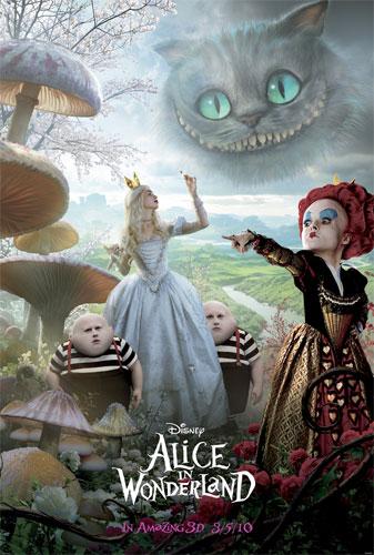 Nuevo póster de Alice in Wonderland