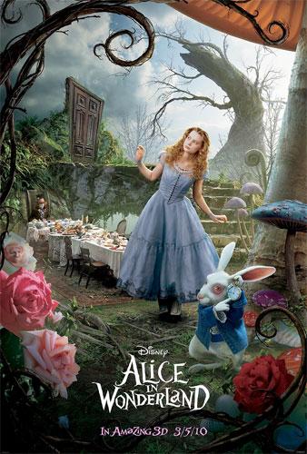 El nuevo cartel de Alice in Wonderland