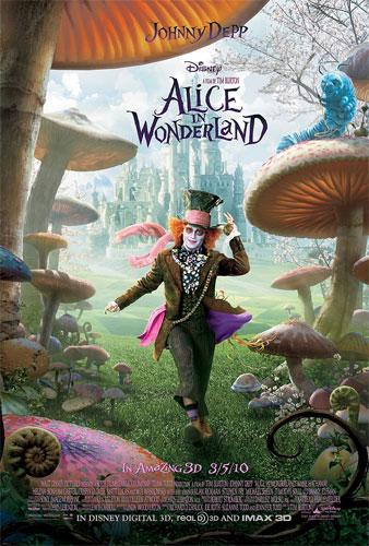 Tercer cartel de Alice in Wonderland