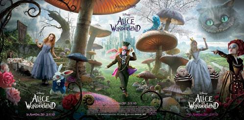 Tríptico final de Alice in Wonderland