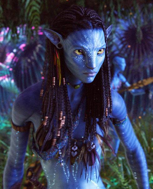Nueva imagen de Neytiri en Avatar