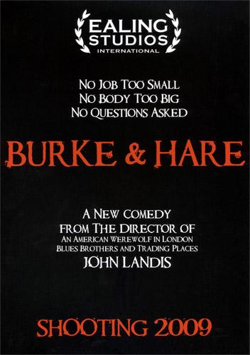 Teaser póster de Burke & Hare de John Landis