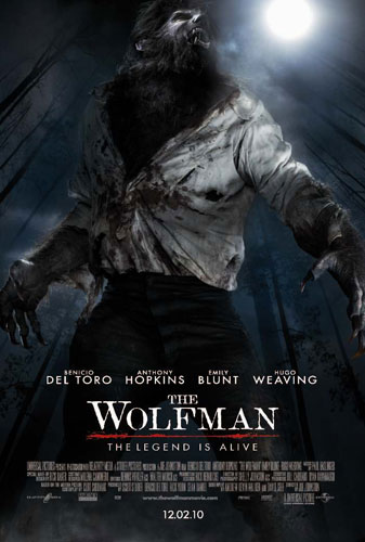 Póster de The Wolfman