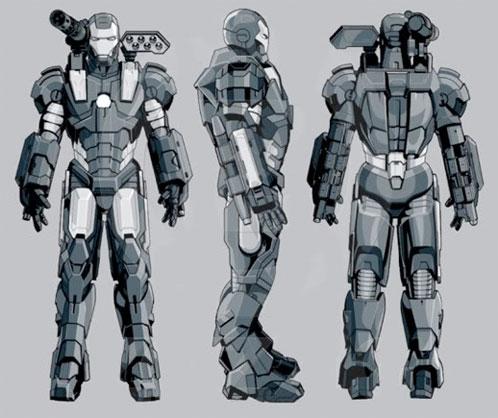 Supuesto arte conceptual de War Machine