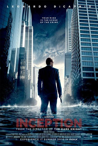 Primer cartel de Inception