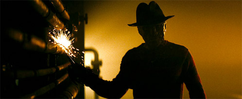Otra imagen oscura de Pesadilla en Elm Street, el origen
