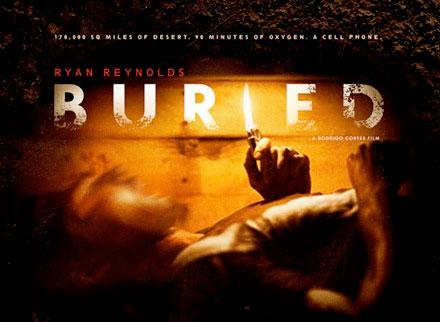 Primer póster de Buried