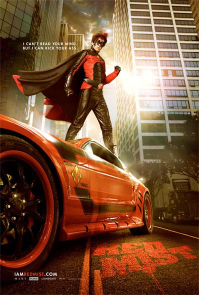 Nuevo póster de Kick-Ass... Red Mist!