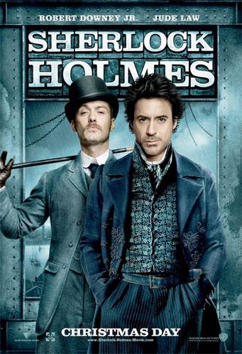 Nuevos carteles de Sherlock Holmes: otra vez Law y Downey Jr.