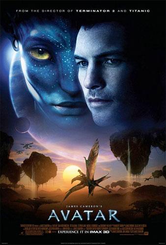 Cartel para IMAX 3D de Avatar de James Cameron
