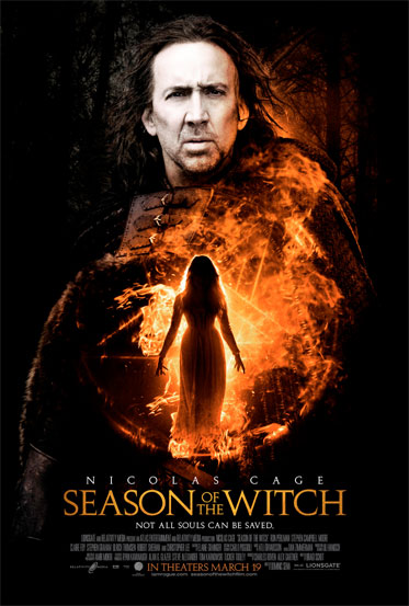 Primer póster de Season of the Witch