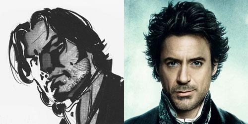 Del papel al celuloide... Sherlock Holmes