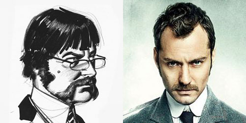 Del papel al celuloide... Dr. Watson