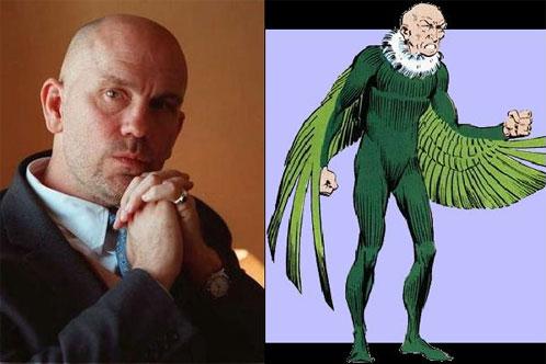 ¿Finalmente John Malkovich como El Buitre en Spider-Man 4?